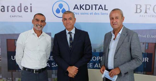 Aradei Capital, BFO Partners et Akdital s'allient © DR