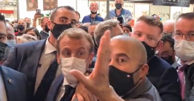 Emmanuel Macron à Lyon © DR