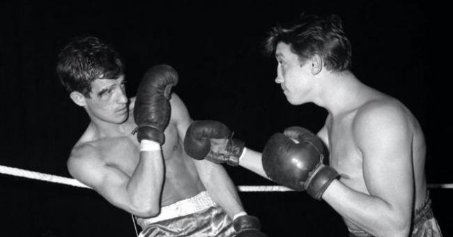 Jean Paul Belmondo était un grand amateur de boxe © DR