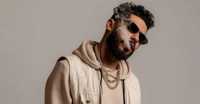 Le rappeur marocain ElGrandeToto © DR