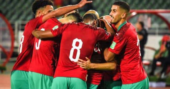 Victoire du Maroc 4-1