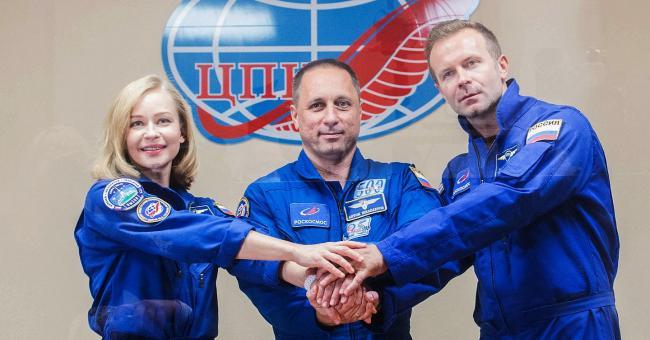 Une équipe russe tourne le premier long métrage dans l'espace