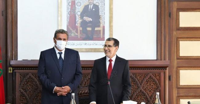 Gouvernement : passation des pouvoirs entre El Otmani et Aziz Akhannouch